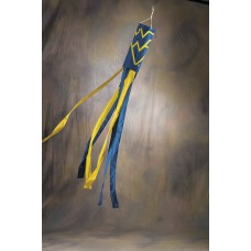West Virginia Mountaineers Wind Sock