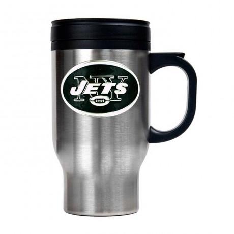 New York Jets Stainless Steel Thermal Mug