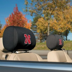Nebraska Huskers Headrest Covers