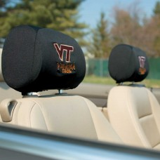 Virginia Tech Hokies Headrest Covers