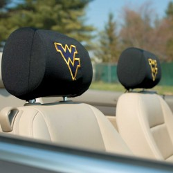 West Virginia Mountaineers Headrest Covers