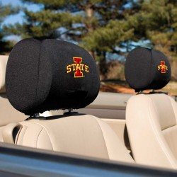 Iowa State Cyclones Headrest Covers