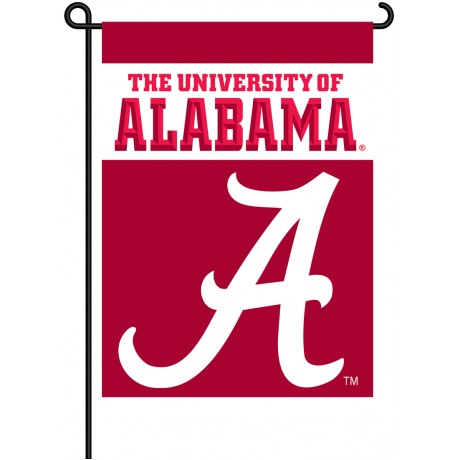 Alabama Crimson Tide Garden Banner Flag