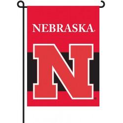 Nebraska Huskers Garden Banner Flag