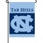 North Carolina Tar Heels Garden Banner Flag