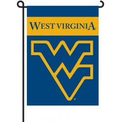 West Virginia Mountaineers Garden Banner Flag