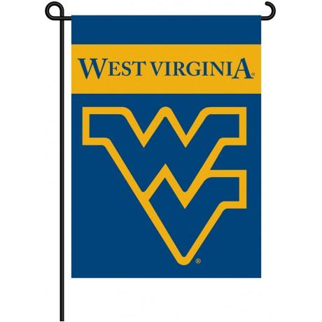 West Virginia Mountaineers Garden Banner Flag
