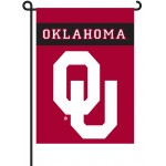 Oklahoma Sooners Garden Banner Flag