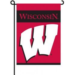 Wisconsin Badgers Garden Banner Flag