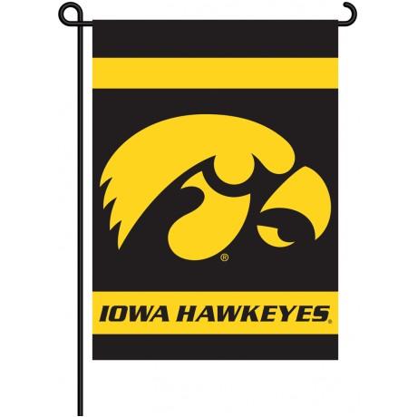 Iowa Hawkeyes Garden Banner Flag