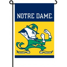 Notre Dame Fighting Irish Garden Banner Flag
