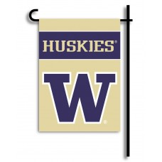 Washington Huskies Garden Banner Flag