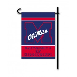 Mississippi Rebels Garden Banner Flag