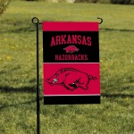 Arkansas Razorbacks Garden Banner Flag