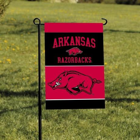 Arkansas Razorbacks Garden Banner Flag