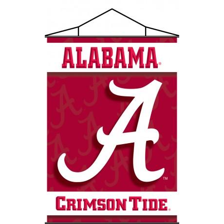 Alabama Crimson Tide Indoor Scroll Banner