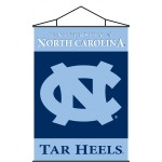 North Carolina Tar Heels Indoor Scroll Banner