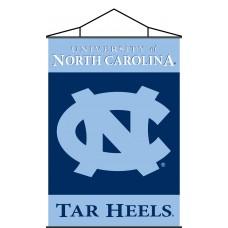 North Carolina Tar Heels Indoor Scroll Banner