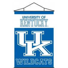 Kentucky Wildcats Indoor Scroll Banner