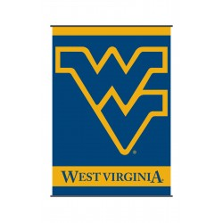 West Virginia Mountaineers Indoor Scroll Banner