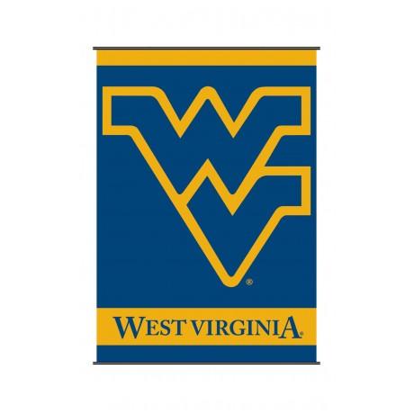 West Virginia Mountaineers Indoor Scroll Banner