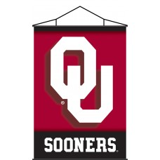 Oklahoma Sooners Indoor Scroll Banner