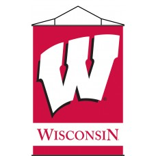 Wisconsin Badgers Indoor Scroll Banner