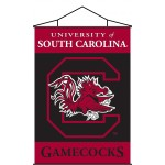 South Carolina Gamecocks Indoor Scroll Banner