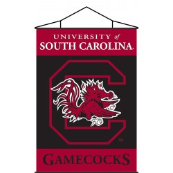 South Carolina Gamecocks Indoor Scroll Banner