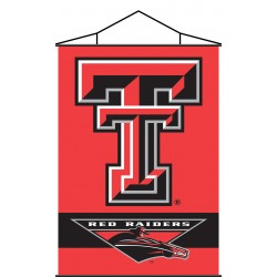 Texas Tech Red Raiders Indoor Scroll Banner