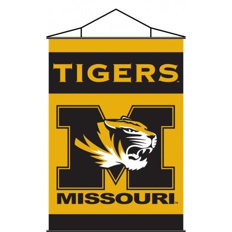 Missouri Tigers Indoor Scroll Banner