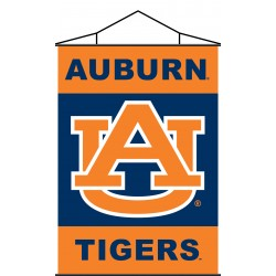 Auburn Tigers Indoor Scroll Banner