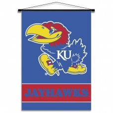 Kansas Jayhawks Indoor Scroll Banner