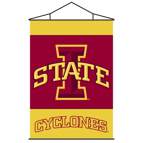 Iowa State Cyclones Indoor Scroll Banner