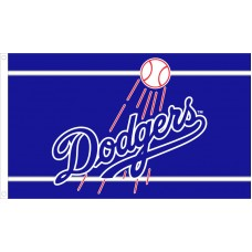 Los Angeles Dodgers 3'x 5' Baseball Flag
