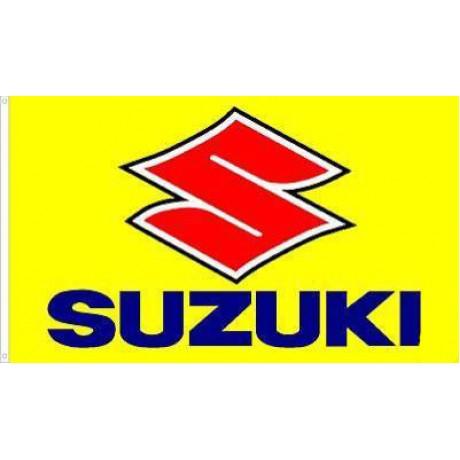 Suzuki Motocross 3'x 5' Flag