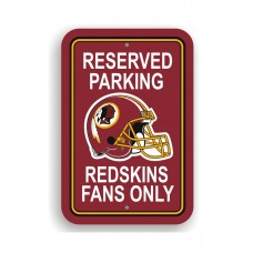 Washington Redskins 12-inch by 18-inch Parking Sign