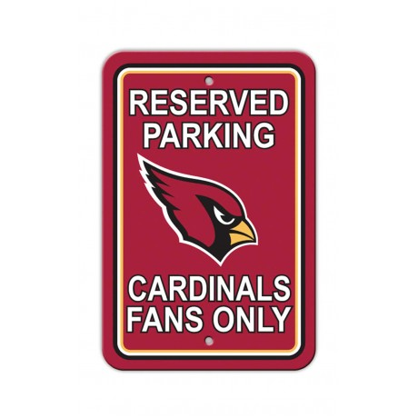 Arizona Cardinals 12-inch by 18-inch Parking Sign