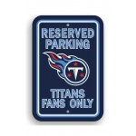 Tennessee Titans 12-inch by 18-inch Parking Sign