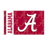 Alabama Crimson Tide Double Sided 3'x 5' College Flag