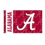 Alabama Crimson Tide Double Sided 3'x 5' College Flag