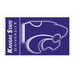 Kansas State Wildcats Double Sided 3'x 5' College Flag