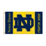Notre Dame Fightin' Irish Double Sided 3'x 5' College Flag