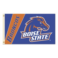 Boise State Broncos Double Sided 3'x 5' College Flag