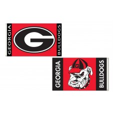 Georgia Bulldogs Double Sided 3'x 5' College Flag