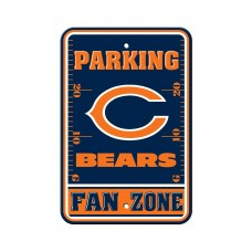 Chicago Bears 12-inch by 18-inch Parking Sign