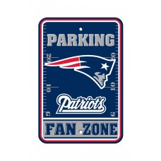 New England Patriots 12-inch by 18-inch Parking Sign