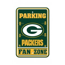 Green Bay Packers 12-inch by 18-inch Parking Sign