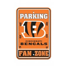 Cincinnati Bengals 12-inch by 18-inch Parking Sign