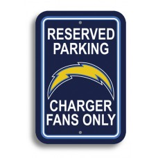 "San Diego Chargers 12"" x 18"" Parking Sign"